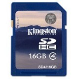 KINGSTON SDHC 16GB Class 4 [SD4/16GB] (Merchant) - Secure Digital / Sd Card