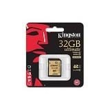 KINGSTON SDHC 32GB Class 10 [SDA10/32GB] (Merchant) - Secure Digital / Sd Card