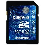 KINGSTON SDHC G2 32GB Class 10 [SD10G2/32GB] (Merchant) - Secure Digital / Sd Card