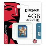 KINGSTON SDHC Ultimate 4GB Class 10 [SD6G2/4GB] (Merchant) - Secure Digital / Sd Card