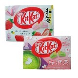 KITKAT Mini Strawberry & Sakura Matcha - Biskuit & Waffer