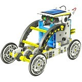 KLIKMYSTORECOM 14 in 1 Solar Robot DIY Educational Kit - Building Set Education