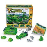 KLIKMYSTORECOM 7 in 1 Solar Rechargeable Tranformers Kit - Building Set Education