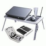 KOBUCCA SHOP Meja Laptop Portable - Meja Lipat Serbaguna