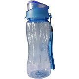KOMAX Smart Handy Water Bottle [KMX00029] - Blue - Botol Minum