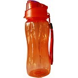 KOMAX Smart Handy Water Bottle [KMX00030] - Orange - Botol Minum