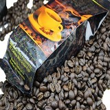 KOPI LUWAK GLOBAL Arabica Roasted Beans Alumunium Foil Bag 100gr - Kopi Bubuk & Kemasan