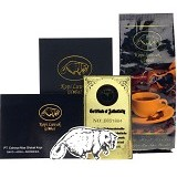 KOPI LUWAK GLOBAL Arabica Roasted Beans Black Gift Box 100gr - Kopi Bubuk & Kemasan