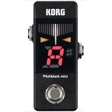 KORG PitchBlack Mini [PB-MINI] - Black - Tuner Portable