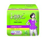 KOTEX Fresh Liner Longer & Wider Scented 16Pcs - Pembalut Wanita