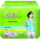 KOTEX Fresh Liner Scented 20Pcs