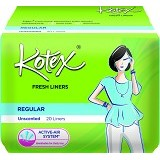 KOTEX Fresh Liner Unscented 20Pcs