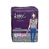 KOTEX Soft & Smooth Overnight Wing 28cm 5Pcs - Pembalut Wanita