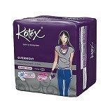 KOTEX Soft & Smooth Overnight Wing 32cm 9Pcs - Pembalut Wanita