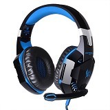 KOTION EACH Gaming Headset Super Bass with LED Light [G2000] (Merchant) - Gaming Headset