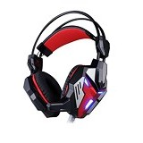 KOTION EACH Headset Gaming Audio Jack 3.5mm Led + Vibration [G3100] - Gaming Headset