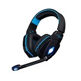 KOTION EACH Headset Gaming With LED [G4000] -  Blue (Merchant) - Gaming Headset