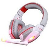 KOTION EACH Headset Gaming With LED [G4000] - Whitre (Merchant) - Gaming Headset