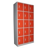 KOZURE Locker [KL-15] - Orange - Filing Cabinet / Lemari Arsip
