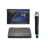 KREZT Single Wireless Microphone Handheld [2380 H] - Microphone System