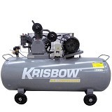 KRISBOW Air Compressor 5.5HP 340L 12BAR 380V 3PH [10029564] - Kompresor Angin