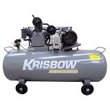 KRISBOW Air Compressor 7.5HP 420L 12BAR 380V 3PH [10029565] - Kompresor Angin