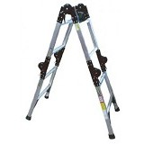 KRISBOW Ladder Adjustable 6.2M Alumunium [KW0100607] - Tangga