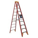 KRISBOW Ladder Step 10 Ft/3 Meter Fiber [KW0102178] - Orange - Tangga
