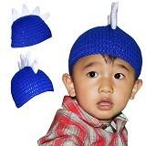KUPRA Kupluk Rajut Dragon Size M - Blue (Merchant) - Topi & Aksesoris Bayi dan Anak