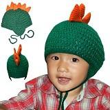 KUPRA Kupluk Rajut Dragon Size S - Green (Merchant) - Topi & Aksesoris Bayi dan Anak