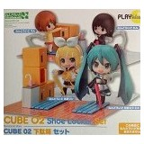 KYOU HOBBY SHOP Nendoroid More : Shoe Locker Set [CUBE 02] - Anime and Manga
