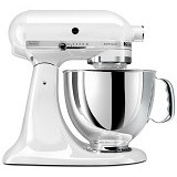 KitchenAid Artisan Stand Mixer [5KSM150PS-WH] - White (Merchant) - Mixer