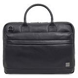 Knomo Foster Laptop Briefcase 14 Inch [45-201] - Black