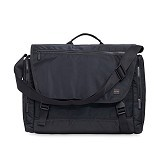 Knomo Hugh Messenger Bag Laptop 14 Inch [40-091] - Black