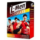 L-MEN Gain Mass Chocolate 225gr - Susu Bubuk & Kemasan