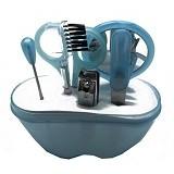 LACARLA Ai Mi Ni Beauty Tool Set 6 in 1 - Blue - Perawatan Tangan dan Kuku