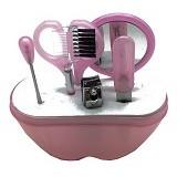 LACARLA Ai Mi Ni Beauty Tool Set 6 in 1 - Pink - Perawatan Tangan dan Kuku