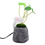 LACARLA Avatar Resin Mushroom Led Light Lampu Hias - Lampu Meja