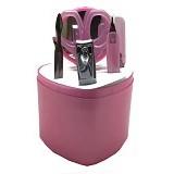 LACARLA Beauty Goods Tool Set 7 in 1 - Pink - Perawatan Tangan dan Kuku