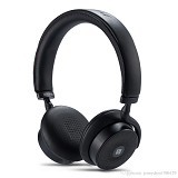 REMAX Bluetooth Headphone with Touch Control [RB-300HB] - Black (Merchant) - Headset Bluetooth