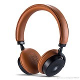 REMAX Bluetooth Headphone with Touch Control [RB-300HB] - Brown (Merchant) - Headset Bluetooth