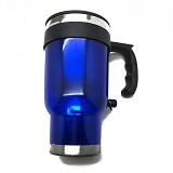 LACARLA Car Heated Travel Mug - Blue - Gelas