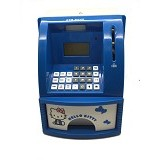LACARLA Celengan ATM Mini Hello Kitty - Blue - Mainan Simulasi