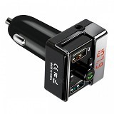 LACARLA Hands-free Car Kit MP3 Player FM Transmitter Dual USB Car Charger [A7] - Car Kit / Charger