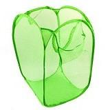 LACARLA Keranjang Lipat (Hamper) Baju Kotor - Green - Keranjang Baju / Laundry Bin