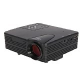 LACARLA Mini LED Projector H100 Built In TV Tunner Lumens 100