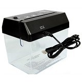 LACARLA Mini USB Paper Shredder with Letter Opener (Merchant) - Paper Shredder Personal / Home