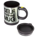 LACARLA Self Stirring Mug - Black - Gelas