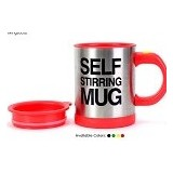 LACARLA Self Stirring Mug - Red - Gelas