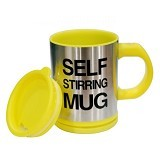 LACARLA Self Stirring Mug - Yellow - Gelas
